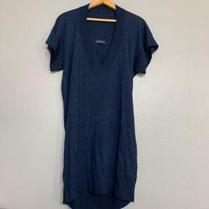 ZADIG & VOLTAIRE | blue merino wool sweater tunic